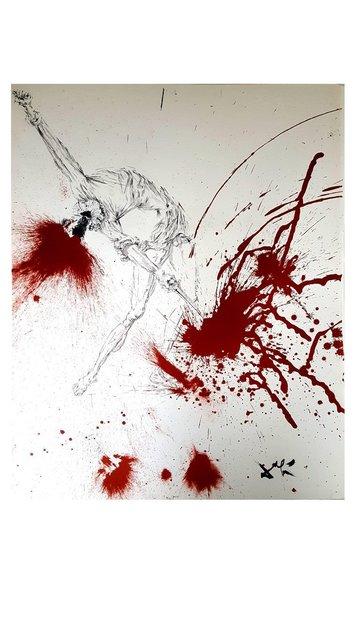 "Salvador Dalí, 'Original Lithograph ""Don Quixote III"" by Salvador Dali', 1957, Galerie Philia"