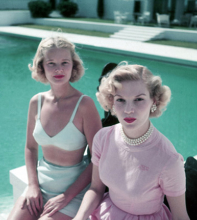 , 'Connelly And Guest, circa 1955: American socialite C.Z. Guest with Joanne Connelly in Palm Beach,' 1955, Staley-Wise Gallery