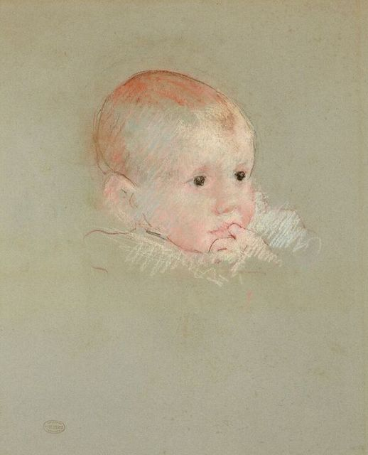 , 'The Head of a Baby with its Finger in its Mouth (Portrait of George Fiske Hammond),' , Stephen Ongpin Fine Art