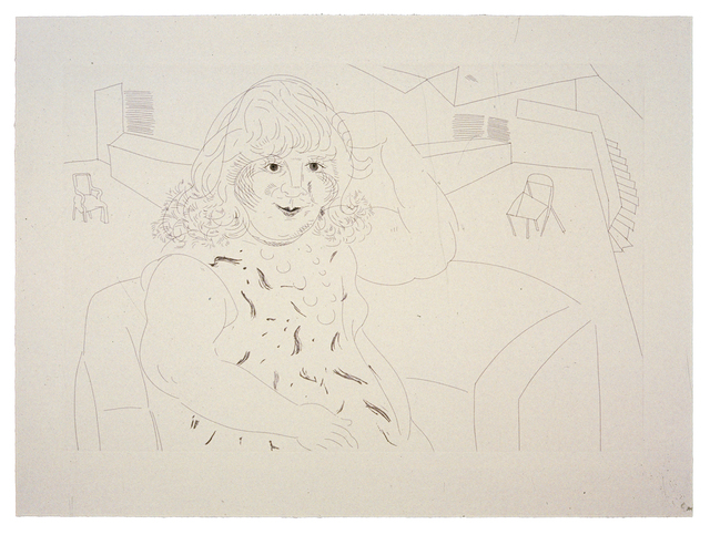 David Hockney, 'Ann in the Studio', 1984, Gemini G.E.L.
