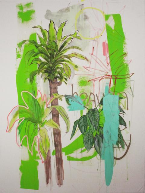 , '2 Pom Poms,' 2017, The Palm Tree Gallery