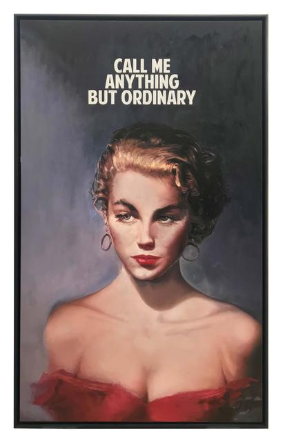 , 'Call Me Anything But Ordinary,' 2018, Maddox Gallery