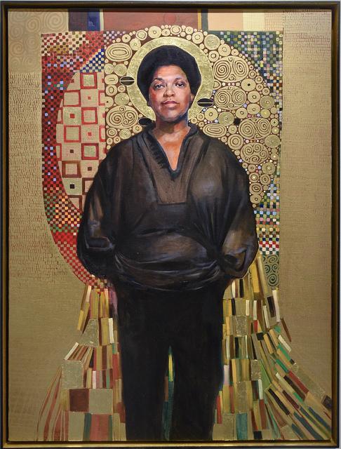 , 'Audre Lorde (Black, Lesbian, Mother, Warrior, Poet),' 2018, Carrie Haddad Gallery