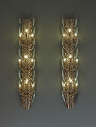 Pietro Chiesa, 'Pair of large wall lights,' ca. 1938, Phillips: Design