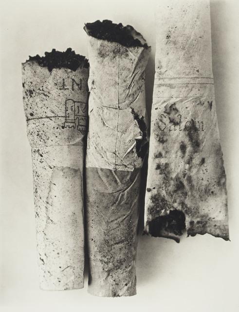 Irving Penn, 'Cigarette No. 52, New York', 1972, Christie's