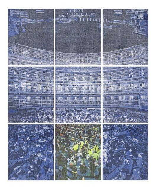 , 'Trade Discipline(9 piece polyptych),' 2013, Revolver Galería