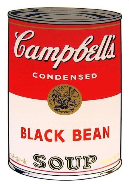 Andy Warhol, 'Campbells Soup Black Bean - Sunday B. Morning (After)', Reproduction, Serigraph, ARTEDIO