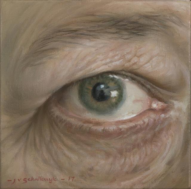 , 'i See,' 2017, Barnard Gallery