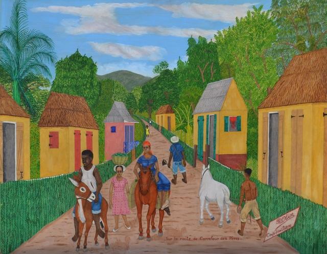 , 'Sur la route de Carrefour des Peres,' 1950-1955, ZQ Art Gallery