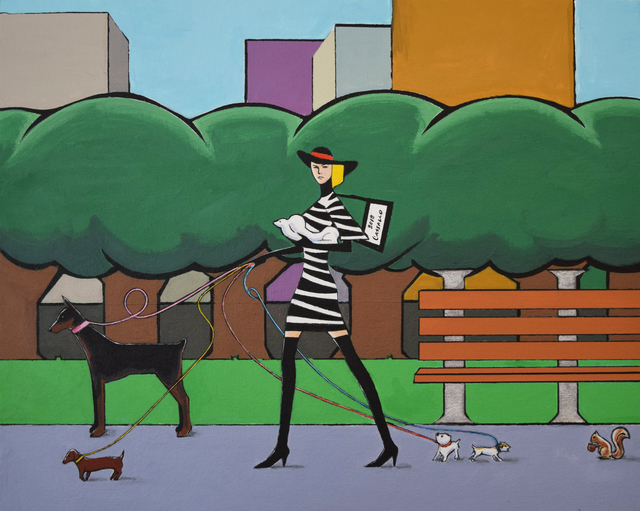 , 'A Walk Through Central Park,' 2018, Fountain House Gallery