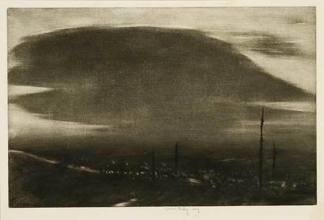 , 'No Man's Land - St. Mihiel Drive,' 1919, Osborne Samuel