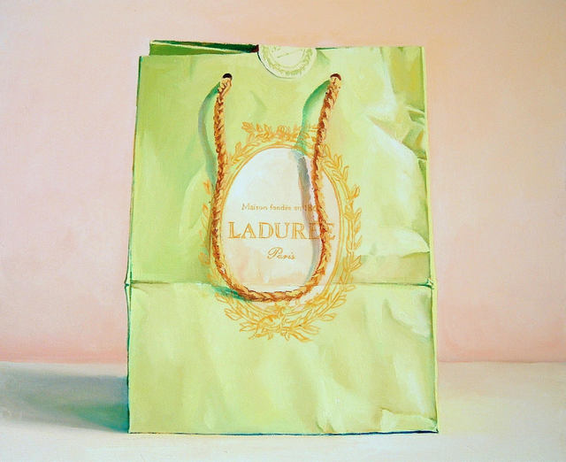 , 'Pink and Green (Laduree Bag),' 2007, Rosenthal Fine Art