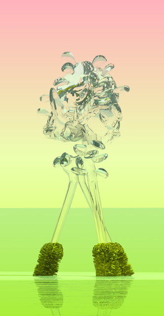 Stepan Ryabchenko, 'Glassflower the Gorgeous', 2016, Print, Digital print on aluminum under plexiglass (Diasec), Al-Tiba9 Contemporary Art