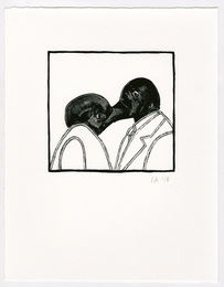 Untitled (Kissing Birds)