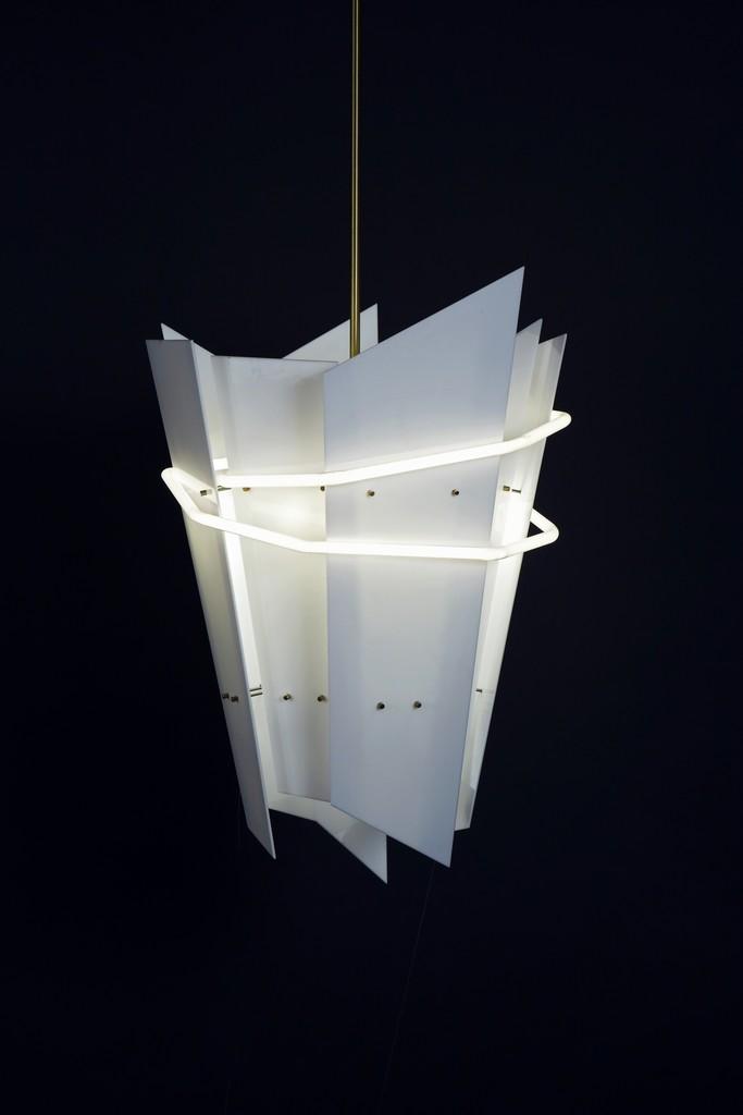 Mary Wallis, 'Neon Lantern,' 2013, UrbanGlass