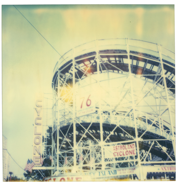 Stefanie Schneider, 'Cyclone (Stay)', 2006, Photography, Analog C-Print (Vintage Print), hand-printed by the artist, based on an expired Polaroid, not mounted, Instantdreams