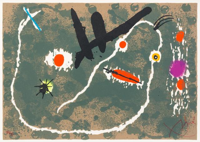 Joan Miró, 'Pl.8 (from Le Lézard aux Plumes d'Or)', 1971, Hindman