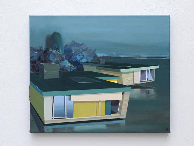 Ulf Puder, 'Ostholsteinische Landschaft', 2020, Painting, Oil on canvas, Akinci