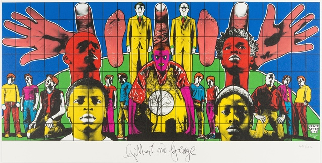 Gilbert and George, 'Death after Life', 2008, Forum Auctions