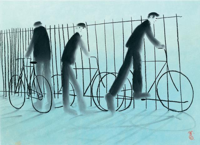 MacKenzie Thorpe, 'See You Monday George', 2005, Castle Fine Art