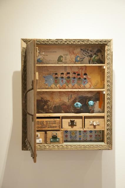 ", '""Livery"" Cabinet,' 2017, Main Street Arts"