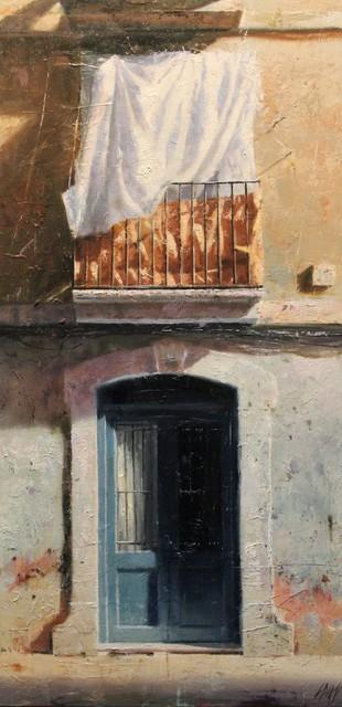 , 'Portal Blau,' 2017, Sala Parés