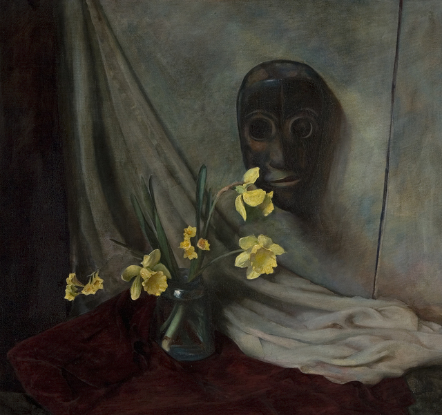 , 'Daffodils and Mask,' , Dowling Walsh