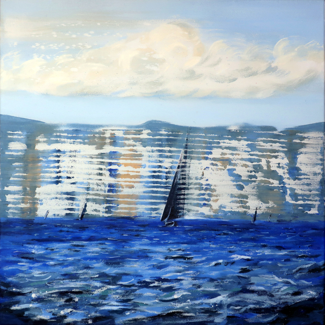, 'Seascape [after Monet],' 2019, Dellasposa