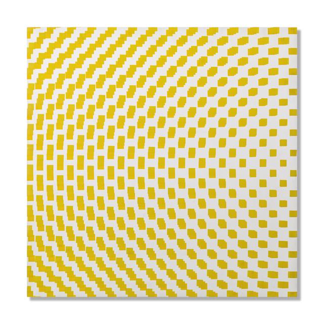 , '3 trames de carrés réguliers décalées,' 1971, The Mayor Gallery