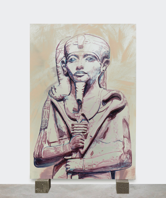 Sara-Vide Ericson, 'Khonsu', 2018, Painting, Oil on aluminum, V1 Gallery
