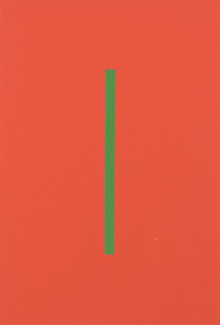 Vera Molnar, 'Icone Orange Et Vert', 1964, Digard Auction