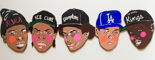 , 'NWA,' 2015, Subliminal Projects