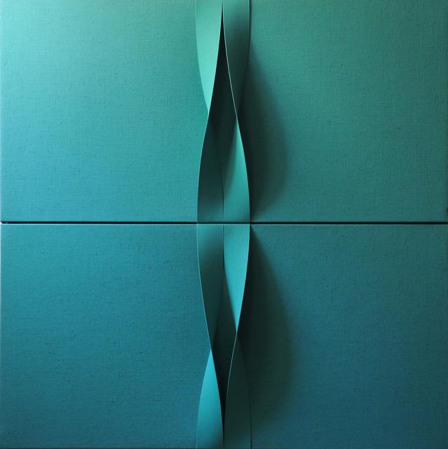 , 'Sincronicita essenziale verde smeraldo,' 2016, Opera Gallery