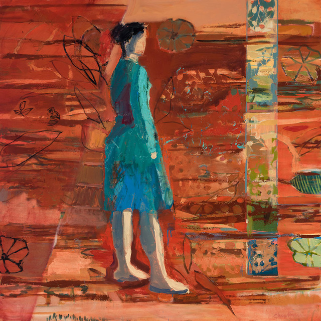 , 'Garden,' , Sue Greenwood Fine Art