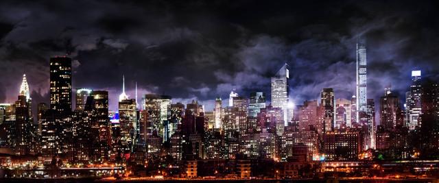 David Drebin, 'Manhattan Nights ', 2014, Isabella Garrucho Fine Art