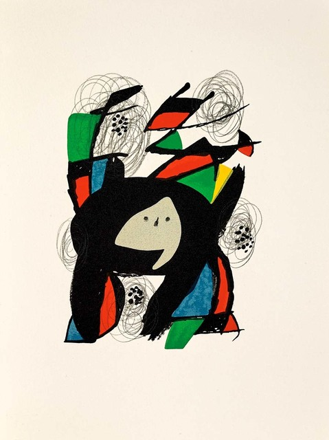 Joan Miró, 'Untitled (La Mélodie Acide, M.1219)', 1980, Martin Lawrence Galleries