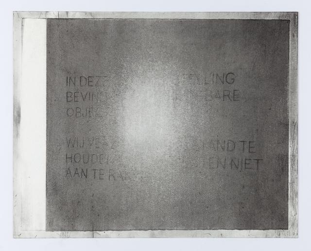 , 'Noli me tangere (Mike),' 2017, Kristof De Clercq