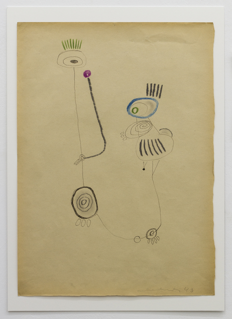 , 'INDIANER - WAS NUN?,' 1948, Galerie Elisabeth & Klaus Thoman