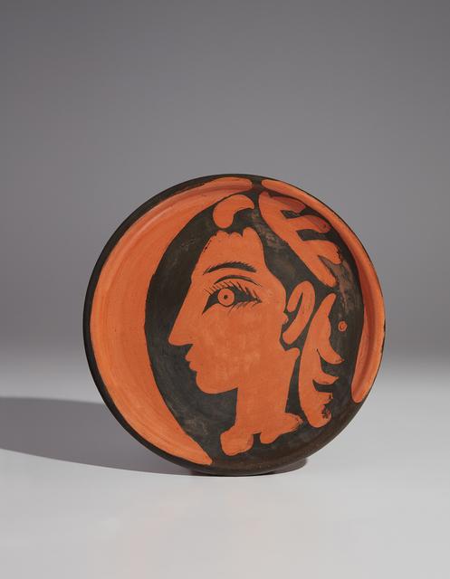 Pablo Picasso, 'Jacqueline's profile (Profil de Jacqueline)', 1962, Phillips