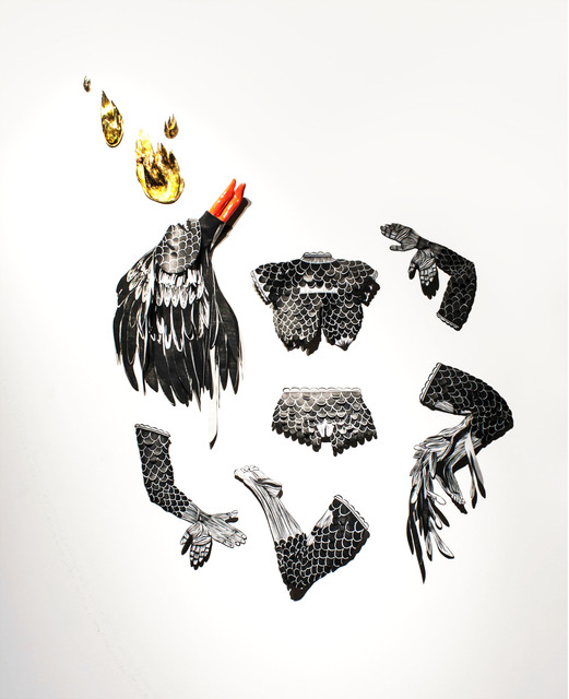 , 'Coyolxauhqui,' 2014, 532 Gallery Thomas Jaeckel