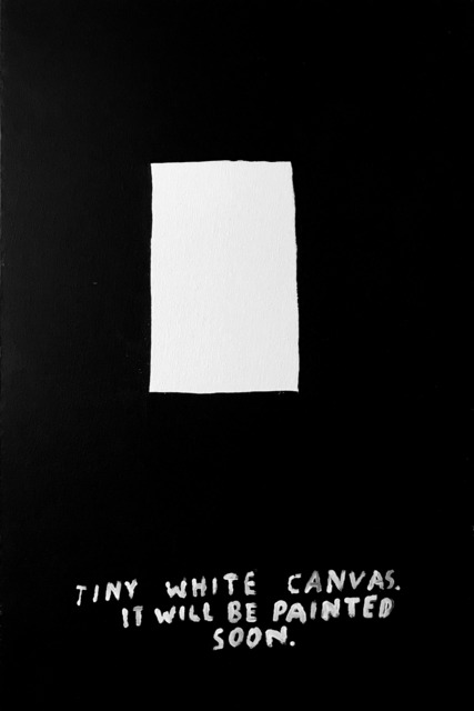 , 'Tiny White Canvas,' 2018, Sapar Contemporary