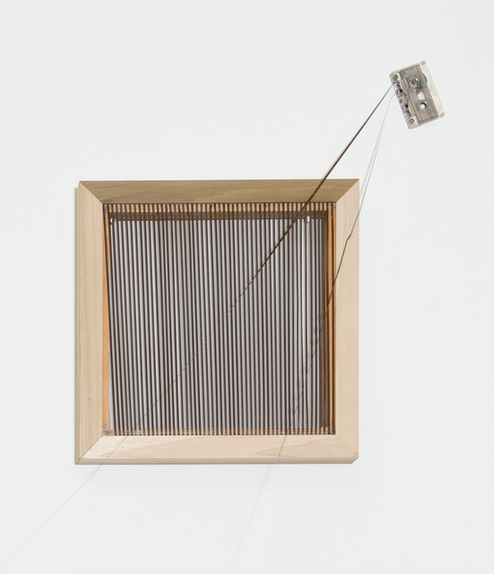 , 'Cassette Ribbon #2,' 2017, Klowden Mann