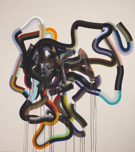 , 'RW (Disintegrates and Collapse),' 2016, Morgan Lehman Gallery