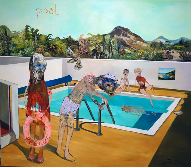 , 'Pool 2,' 2016, Knight Webb Gallery