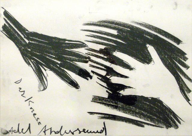 , 'Darkness,' 2008, Christine König Galerie