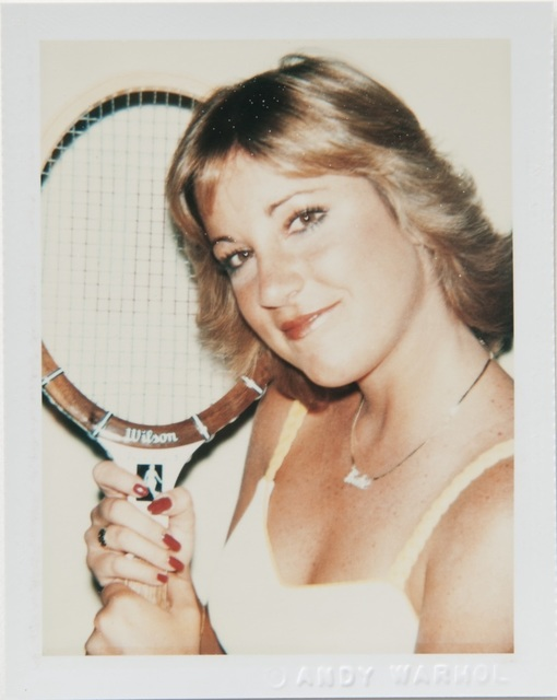 , 'Andy Warhol, Polaroid Photograph of Chris Evert Lloyd, 1977,' 1977, Hedges Projects