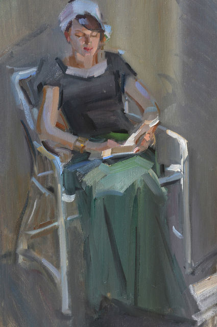 , 'Kami Reading,' , Gallery 1261