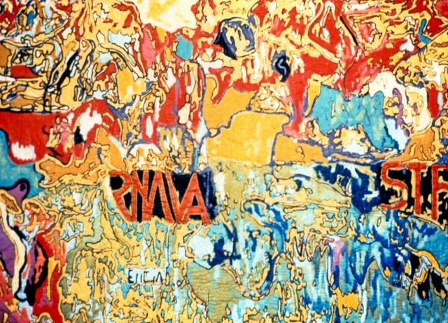 , 'Walls of Santa Mesa,' 1985, Pacita Abad Art Estate