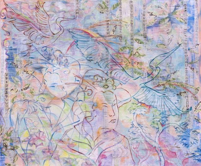 Lauren Jones Worth, '10,000 Flowers in Spring', Walter Wickiser Gallery