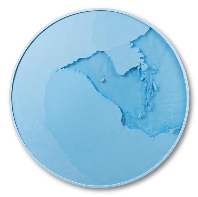 , 'Cercle Bleu Lumière,' 2017, Espace Meyer Zafra